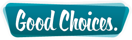 Good Choices print logo